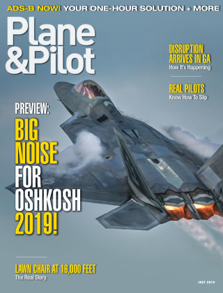Plane & Pilot Jul 2019