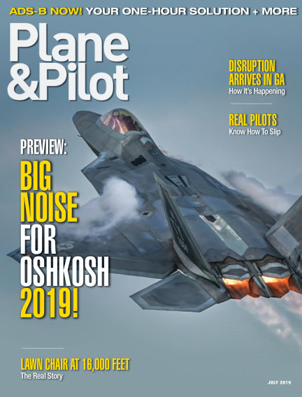 Plane & Pilot May 31, 2019 00:00