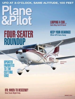 Plane & Pilot Aug 2019