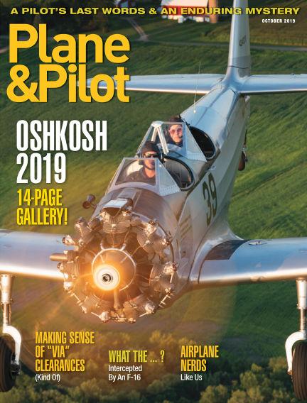 Plane & Pilot August 30, 2019 00:00