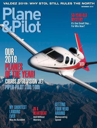 Plane & Pilot Nov 2019
