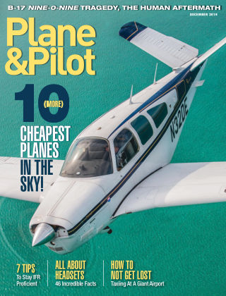 Plane & Pilot Dec 2019