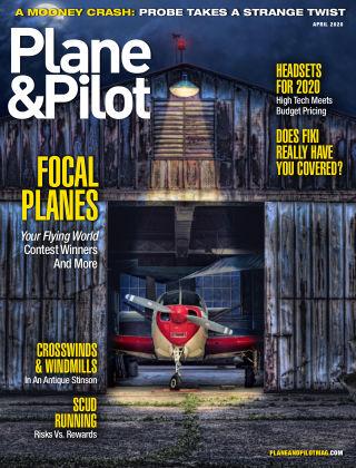 Plane & Pilot Apr 2020