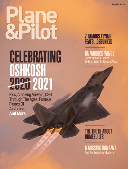 Plane & Pilot June 26, 2020 00:00