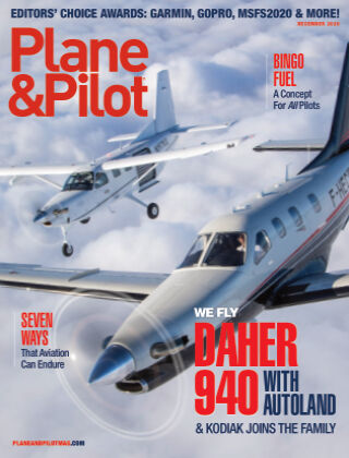 Plane & Pilot December 2020