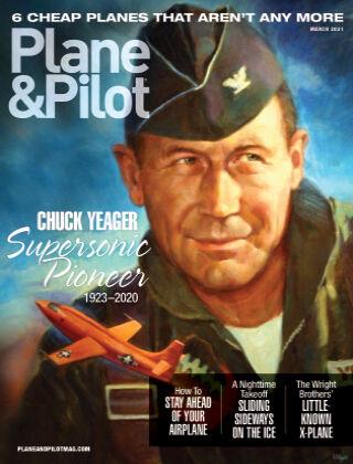 Plane & Pilot March 21