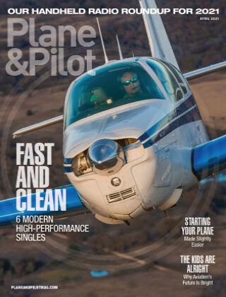 Plane & Pilot April 2021