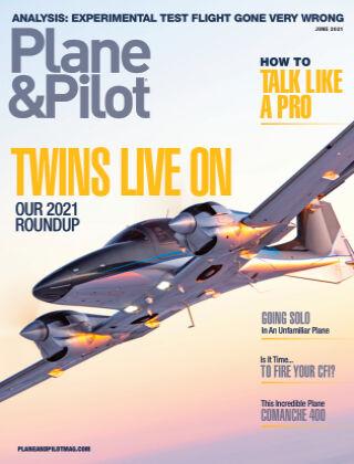 Plane & Pilot Jun 2021