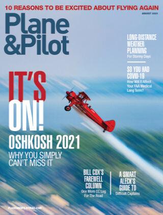 Plane & Pilot August-21