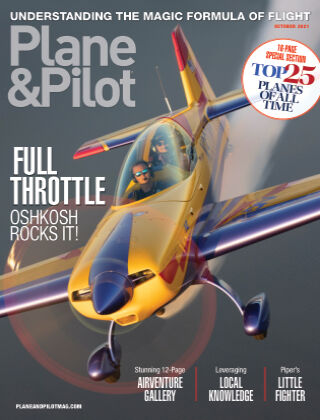 Plane & Pilot October-21