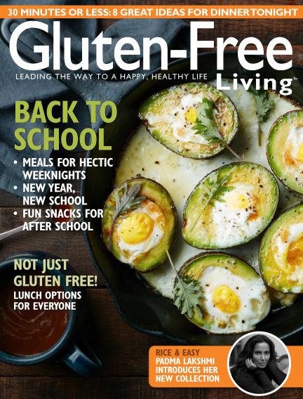 Gluten-Free Living July 16, 2016 00:00