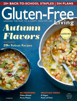 Gluten-Free Living Sep-Oct 2018