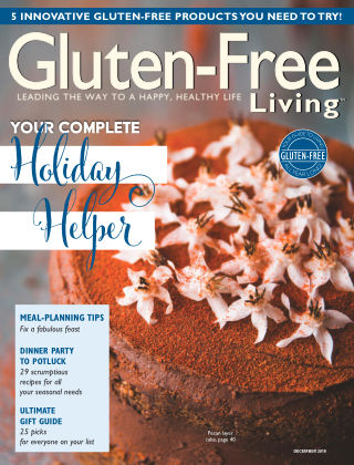 Gluten-Free Living Nov-Dec 2018