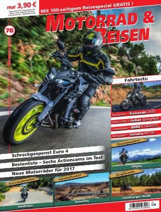 Motorrad & Reisen Ausgabe 78