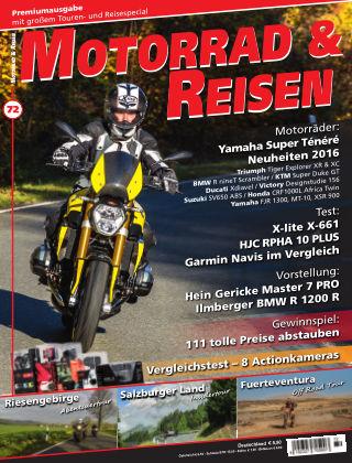 Motorrad & Reisen Ausgabe 72
