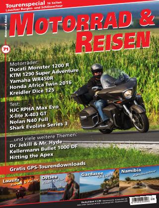 Motorrad & Reisen Ausgabe 71
