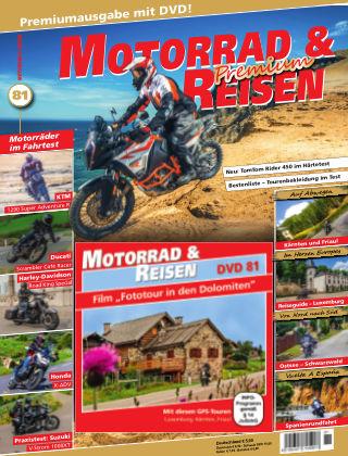 Motorrad & Reisen Ausgabe 81