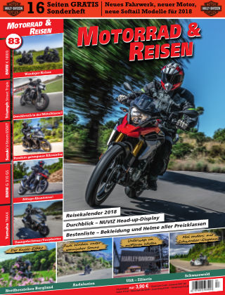 Motorrad & Reisen Ausgabe 83