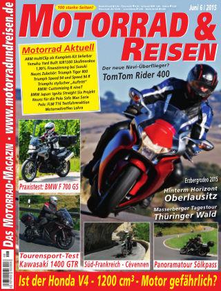 Motorrad & Reisen Ausgabe 06/15