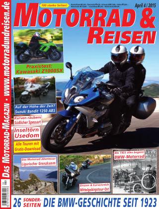 Motorrad & Reisen Ausgabe 04/15