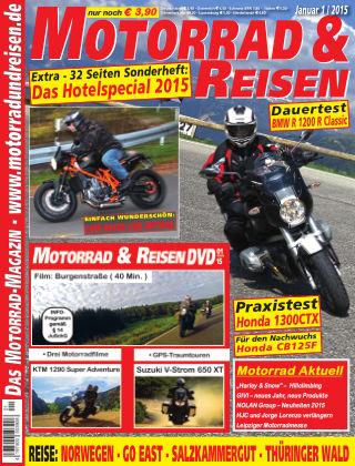 Motorrad & Reisen Ausgabe 01/15