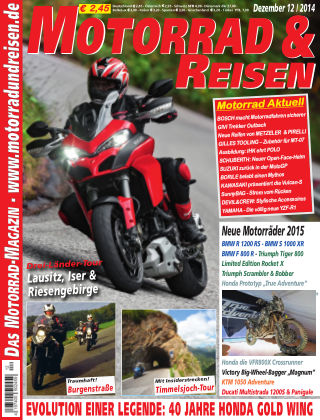 Motorrad & Reisen Ausgabe 12/14