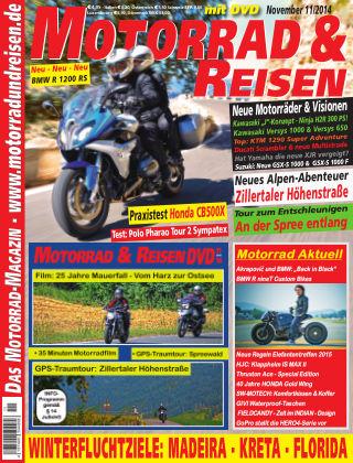 Motorrad & Reisen Ausgabe 11/14