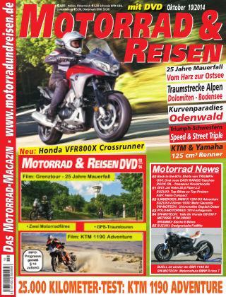 Motorrad & Reisen Ausgabe 10/14