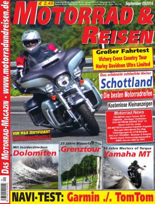 Motorrad & Reisen Ausgabe 09/14