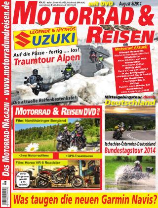 Motorrad & Reisen Ausgabe 08/14
