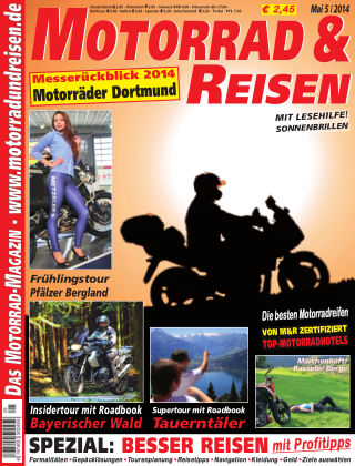 Motorrad & Reisen Ausgabe 05/14