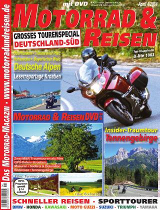 Motorrad & Reisen Ausgabe 04/14