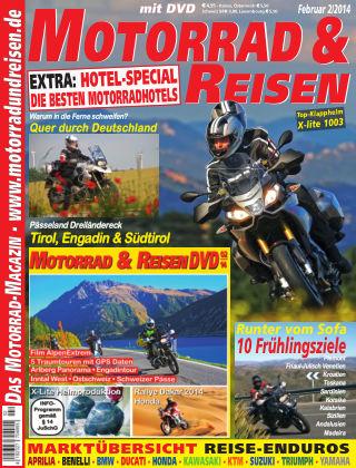Motorrad & Reisen Ausgabe 02/14