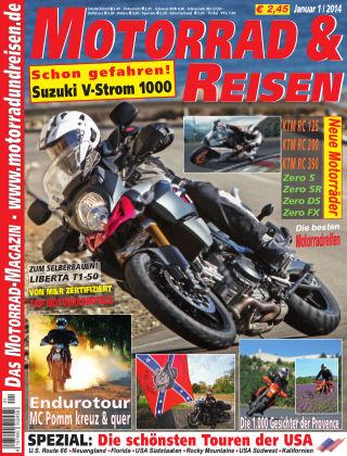 Motorrad & Reisen Ausgabe 01/14
