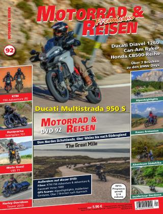 Motorrad & Reisen Ausgabe 92