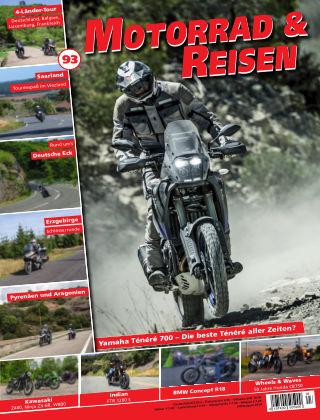 Motorrad & Reisen  Ausgabe 93