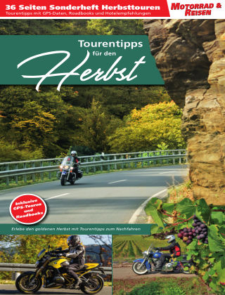 Motorrad & Reisen Sonderheft Herbst