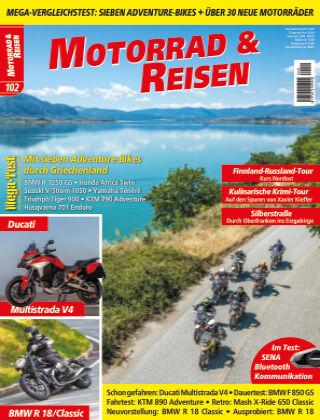 Motorrad & Reisen Ausgabe 102