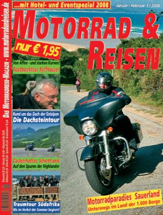 Motorrad & Reisen 01/08