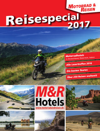 Motorrad & Reisen Sonderheft Touren & Reisen 2017