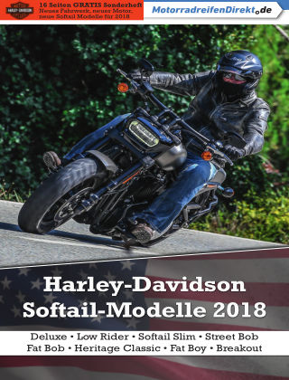 Motorrad & Reisen Sonderheft Harley-Davidson '18