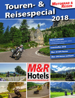 Motorrad & Reisen Sonderheft Touren- & Reisen '18