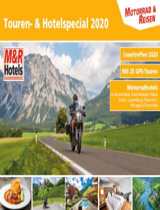 Motorrad & Reisen Sonderheft Touren- & Hotels '20