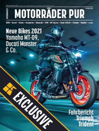 Motorräder PUR Readly Exclusive Neue Bikes 2021