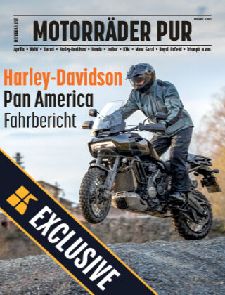Motorräder PUR Readly Exclusive Pan America