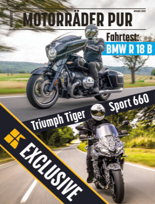 Motorräder PUR Readly Exclusive 06/2021