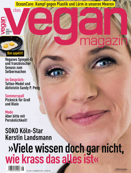 das vegan magazin July 14, 2018 00:00