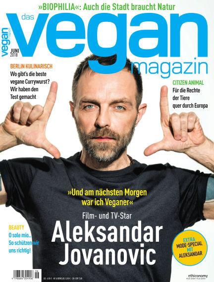 das vegan magazin June 01, 2018 00:00