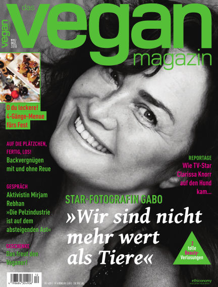 das vegan magazin November 01, 2018 00:00