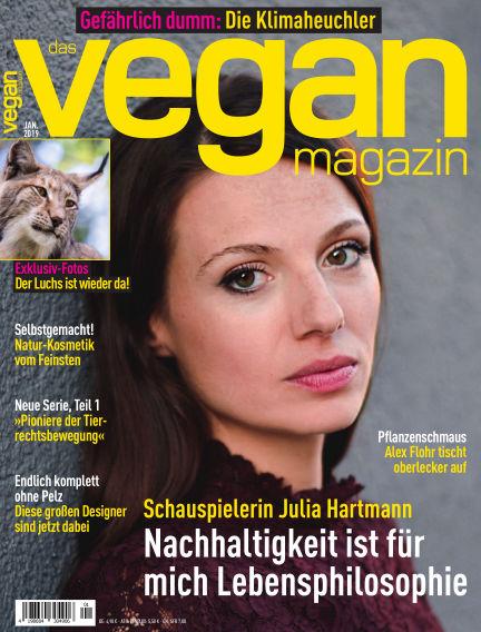 das vegan magazin January 05, 2019 00:00